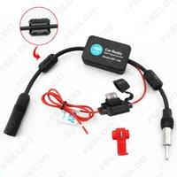 Wholesale Signal Amp - 12V Signal Car Amp Amplifier Booster Radio Car Radiol Amplifier ANT-208 Auto Antenna AM FM