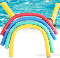 Wholesale Fun Exercises - 1pc Pool Noodle Swimming Training Exercise Foam Water Noodle Kids Adults Aid Float Pool Fun 6cmx1.5m
