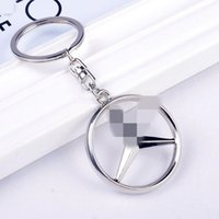 Partes Para Abs Del Coche Baratos-alta calidad Mercedes-Style Car Keychain Parte recoger KeyRing key chain gob