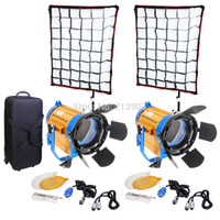 Telecomando senza fili LED bicolore 150W * 2PCS + softbox * 2pcs + supporto * 2pcs + kit kit Luce spot video