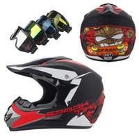 Wholesale Wholesale Atv Helmets - Wholesale- 2016 new motorcycle helmet ATV Dirt bike Downhill MTB DH racing helmet capacete motocross off-road motocross helmet
