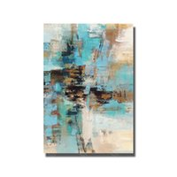 Wholesale Oil Painting For Sale Unframed - Abstract Oil Painting on Canvas for Living Room Decor Hand Painted Cheap Modern Oil Painting Hot Sale No Framed