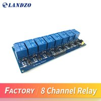 Wholesale Module Pic - Free shipping 5V 8-Channel Relay Module Board for Arduino PIC AVR MCU DSP ARM Electronic Best price 8 Channel Relay Module