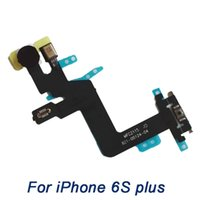Wholesale Proximity Sensor Switches - power flex cable For iphone 6S Plus , grade A+ Power Switch On Off Button flat Ribbon With Proximity Light Sensor