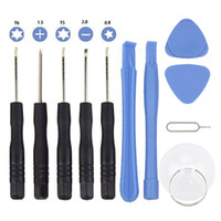 Wholesale Tools Screw Drivers - 11 in 1 Screw Driver Tool Kits Cell Phone Repair Tool Set For iPhone Samsung HTC Sony Motorola LG