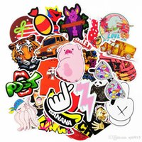 Wholesale Sticker Bomb Motorcycle - Car Styling 100pcs Random Style decal Stickers for Graffiti Car Covers Skateboard Snowboard Motorcycle Bike Laptop Sticker Bomb Accessories