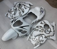 Wholesale Dragon Mold - Body Kits Gsx 1300R 01 02 Bodywork GSX R1300 1998 White Black for dragon Plastic Fairings for Suzuki GSXR1300 97 98 1997 - 2007