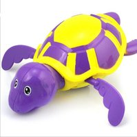 Wholesale Wind Up Turtles - Wind Up Water The new children's baby shower water turtle toy Clockwork chain on the turtle YH986-2