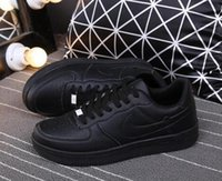 Wholesale Square Drill - Hot New Top high Quality Men and Women upgraded version New All White Shoes and black with Air drill size 36-44 Free shipping run shoes