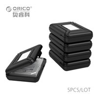"""Wholesale Hdd Protector Case - Wholesale- ORICO PHX-5S-GY Simple HDD Protector Box for 3.5"""" HDD Case with Waterproof Function- 5PCS LOT-Gray"""