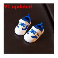 Wholesale First Version - Lucus 's store Baby first walkers High version Pirate Black MoonRock Oxford Tan Turtle Gray UPDATED batch run half size bigger