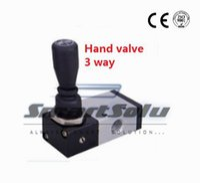 "Wholesale Manual Valve - 2 position Pneumatic air 3 way hand control valve TSV98321-S Port 1 8"" BSP Manual valve spring loaded return"