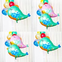 Wholesale Bird Balloons - Love Bird Animal foil balloons wedding decoration mariage baby shower helium balloons children inflable toys party supplies