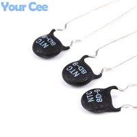 Wholesale Resistor Composition - Wholesale- 50pcs NTC Thermistor Resistor NTC 8D-9 8D9 Thermal Resistor