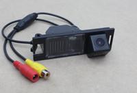камера заднего вида hyundai оптовых-HD CCD автомобиля камера заднего вида для Hyundai IX35 Tucson 2009-2013 обратный вид парковки почти видения резервного копирования