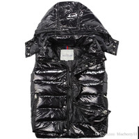 Wholesale Men S Winter Fashion Trends - Hot sales luxury Men down jacket vest autumn winter new fashion trends Women down coat Free shipping