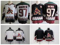 Wholesale Phoenix Cheap - Top Quality ! 2016 Men Phoenix Coyotes 97 Jeremy Roenick Hockey Jerseys Cheap Arizona Blank Authentic Throwback Vintage CCM Stitched Jerseys