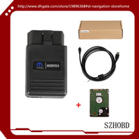 Wholesale Witech Chrysler - 2017 wiTECH MicroPod 2 Diagnostic Tool V17.04.27 wiTech MicroPod 2 with HDD for Chrysler   Doge   Jeep   Fiat + DHL free shipping