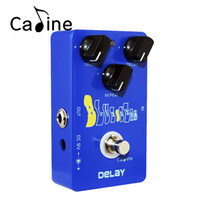 Wholesale guitar effects delay for sale - Group buy Caline CP Blue Ocean Delay Guitar Effect Pedal True Bypass Guitarra Accessories Musical Instrument