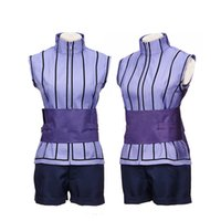 Wholesale Custom Ninja Costume - Free Shipping Naruto Cosplay THE LAST Hyuga Hinata Cosplay Costume Ninja Costume Carnival Costumes for Women Custom Size
