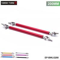 ingrosso barre del paraurti-TANSKY -Universal 2Pcs / SET 200mm Barra paraurti anteriore regolabile regolabile per paraurti anteriore per Ford EP-BWLG200