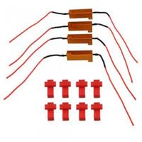 Wholesale led resistors - 10Sets LED Bulb Load Resistor Turn Signal Flash Controller Hot Sale And Good Quality