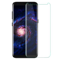Wholesale Wholesale Small Cases - Case Friendly For Samsung Galaxy S8 S8 Plus Note 8 Note8 Small Type 3D Curved Tempered Glass Screen Protector Using With Any Cases
