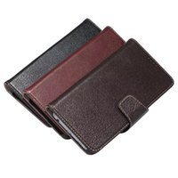Wholesale Luxury Retro Leather Wallet S4 - Luxury Real Genuine Leather Case For Samsung Galaxy S4 S5 S6 S7 Edge Plus Note 2 3 5 Retro Flip Cover Case Wallet Card Stand Bag Coque