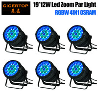 130V os pack - Gigertop Pack TP P83 x12W OS ram Waterproof Led Zoom Par Light IP65 Degree Beam Angle Adjustable Long Project Spot