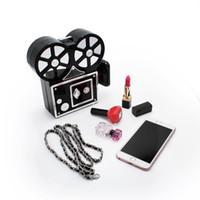 Wholesale Purse Camera - Wholesale- Classical camera shape clutch bag women fashion handbags wedding purses (C700)