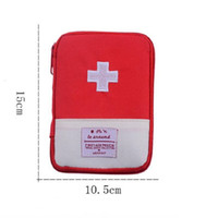 Wholesale Safety First Kit - Wholesale First Aid Kit Bag Emergency Kits Portable Medical Package For Outdoor Tour Camping Travel Survival Safety Rescue Free Shipping