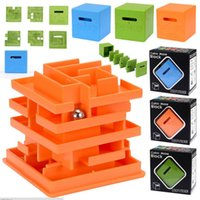 Cubic Maze Block 3D Labyrinth Magic Cube Puzzle Cube Puzzle Spiel Labyrinth Ball Spielzeug Maze Ball Spiele Lernspielzeug Neuheit Zappeln Spielzeug LA553-2