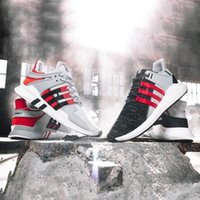 Wholesale Shoes Mens Canvas Sport - Overkill x Consortium EQT ADV 93 17 ultra Boost Support Future black white pink Coat of Arms Pack Mens women Running sports shoes Sneakers