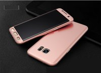 Wholesale Grand Cases - FOR Samsung Galaxy J7 Prime A7 2017 J2 2016 J210 J3 J310 A310 J1 J120 GRAND PRIME 360 Degree PC Full Coverage Tempered Glass Cover Case 50pc