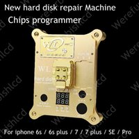Wholesale Flash Memory Ic - WL PCIE NAND Flash IC Programmer Tool Machine for iPhone 6S 7 Plus SE for iPad Pro serial number change Memory capacity Extended