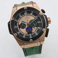 Wholesale Battery 27 - Big sell Hub BIG 704893 BANG GENEVE 42mm Quartz watch luxury brand wristwatch Quartz 6 needle AAA men replicas watches royal oaks 27