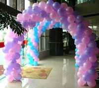 Wholesale Arch Balloons For Parties - 1 Bag=100 Pcs Wedding Supplies Balloons Marriage Room Decoration Arches Door Balloon for Wedding party birthday festival
