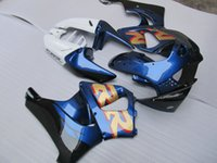 Wholesale 99 cbr fairing kit resale online - Bodywork plastic fairing kit for Honda CBR919RR blue white fairings set CBR RR OT31