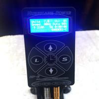 kasırga dövmesi tedarik toptan satış-Sıcak Satış HP-2 Powe Kitleri için Powe Kaynağı Siyah Hurricane Dövme Güç Kaynağı Dövme Makinesi Aracı LCD Ekran TPS051A