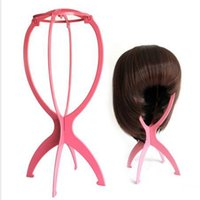 Wholesale Product Stands - 5pcs Cheap Wholesale price Plastic wig stand Hair holder lifts hair accessories Hair care products Wig Stand