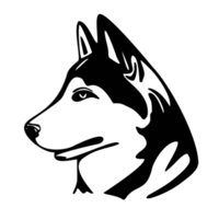 Wholesale Car Color Personality - Hot Sale Car Sticker For Husky Dog Decoration Personality Interesting Car Styling Vinyl Cartoon Animal Decals