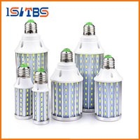 High Power Alumínio Cooling 5730 SMD LED Corn Bulb 85V-265V E27 10W 15W 20W 25W 30W 50W Sem luz cintilante LED Spot Spot