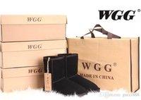 Wholesale Womens Plaid Boots - Fashion Nice Classic WGG Brand Women Popular Australia Genuine Leather Boots Fashion Womens Snow Boots US5--US12