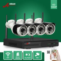 ANRAN Plug Play 1080P 4CH HD WIFI NVR 36IR Indoor Outdoor Network IP Wireless Camera Surveillance Sistemas de segurança CCTV