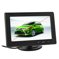 Wholesale Lcd Display Video Input - 4.3 Inch 480 x 272 Color TFT LCD Screen 2-Channel Video Input Car Rear View Monitors Support Multi-role Display CMO_332