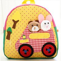 Wholesale Children S Backpack Cartoon - New Cute Cartoon Design Backpack Kids Schoolbag Children\'s Gifts Kindergarten Boy Girl Baby Student Bags