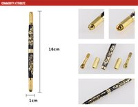 Wholesale Tattoo Print Machine - Double Cross Tattoo Pen Embroidery Special Pen Gold Prints Beautician Special Embroidery Machine Multi-functional Embroidery Pen