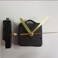 quarz handwerk uhren großhandel-Schwarzgold Geschenk Uhr und Uhrenteile Schaftlänge 13cm Uhrenzubehör Bestes Quarzuhrwerk