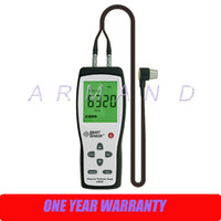 Wholesale Digital Ultrasonic Thickness Gauge - Digital Ultrasonic Thickness Gauge 1.2-225mm Smart Sensor AS840 portable thickness tester Sound Velocity Measuring 1000-9999m s