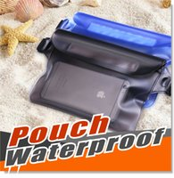 Wholesale Wholesale Pocket Protectors - Premium Waterproof Waist Pouch Handbag Case Cell Phone Water proof Dry Bag Valuables Protector Available in Various Combination Set
